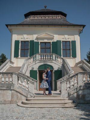 Foto: Wilhelm Watschka Fotografie.Romantisches Hochzeit Foto von einem Brautpaar.
